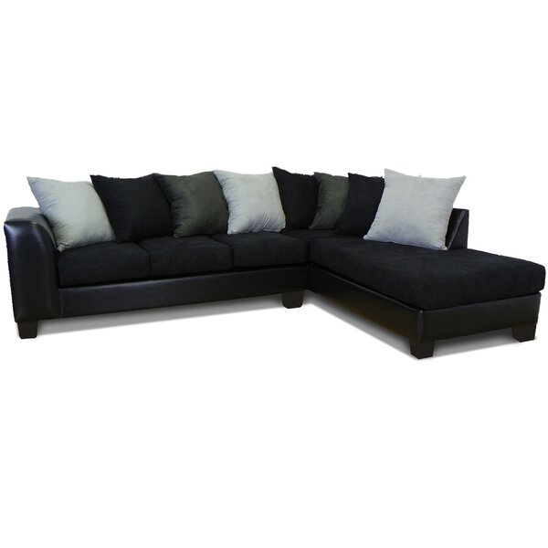 Clearance Burwood Right Hand Facing Sectional by Red Barrel Studio by Red Barrel Studio