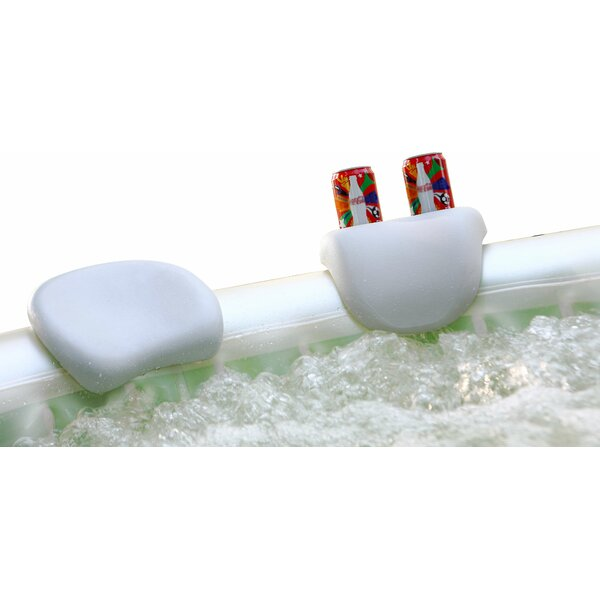 Inflatable Spa Headrest and Cup Holder (Set of 2) by MSPA USA
