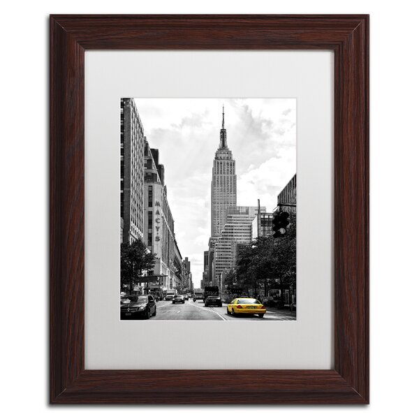 Living in New York by Philippe Hugonnard Framed Photographic Print by Trademark Fine Art