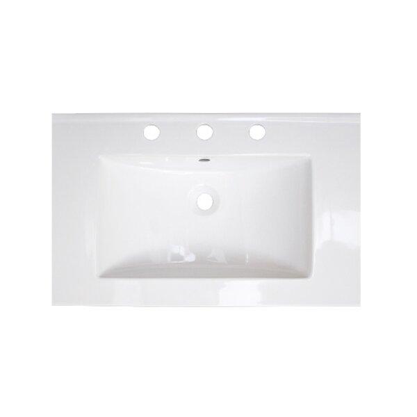 24 Single Bathroom Vanity Top