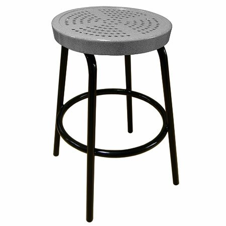 Perforated 16-inch Patio Bar Stool by Leisure Craft Leisure Craft