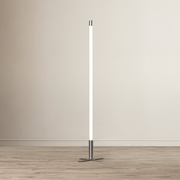 Kassidy Stick Indoor 53 Column Floor Lamp by Zoomie Kids