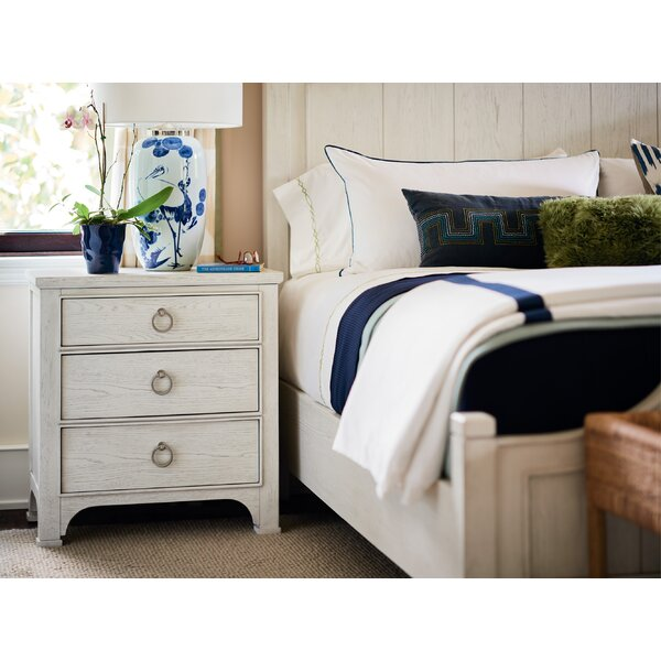 Aminah 3 Drawer Nightstand by Gracie Oaks