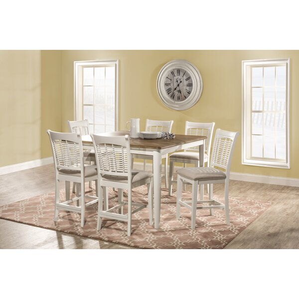 Hartling Bayberry 7 Piece Counter Height Dining Set By August Grove Best #1
