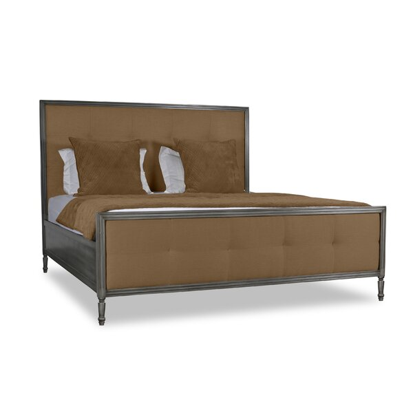 Lanagan Button Tufted Upholstered Standard Bed by Rosdorf Park