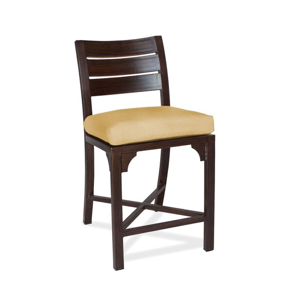 Bungalow Patio Bar Stool with Cushion (Set of 2) by Peak Season Inc.