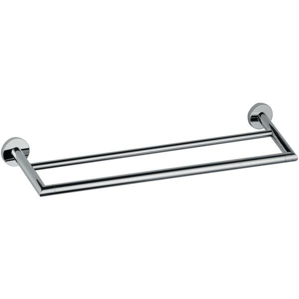 Sonny Double 25.2 Wall Mounted Towel Bar by Orren Ellis