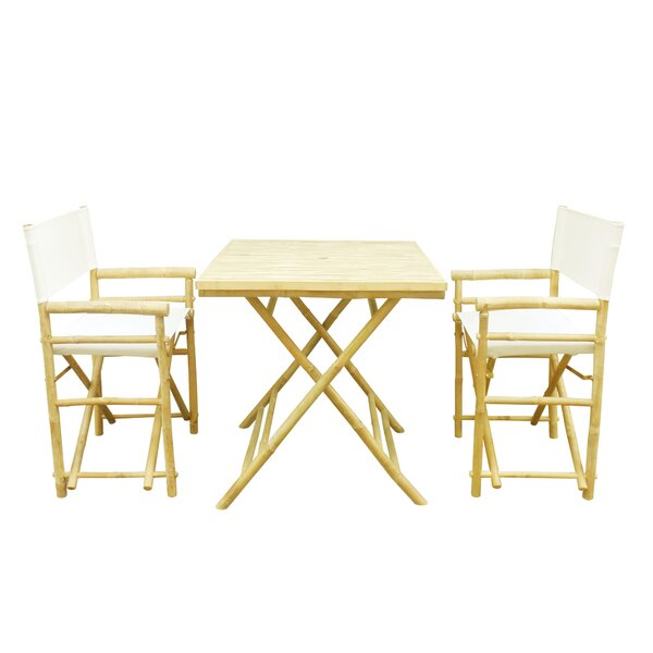 Oklee 3 Piece Bistro Set by Darby Home Co