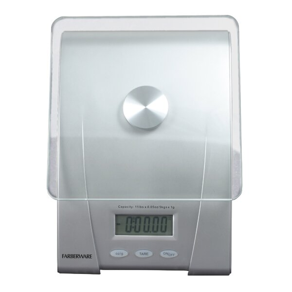 Classic Electronic Kitchen Scale by Farberware