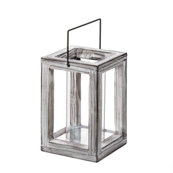 Weathered Wood Lantern by Zingz & Thingz