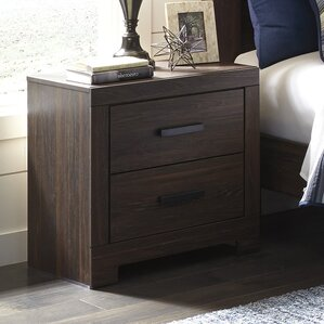 Fritsche 2 Drawer Nightstand by Red Barrel Studio