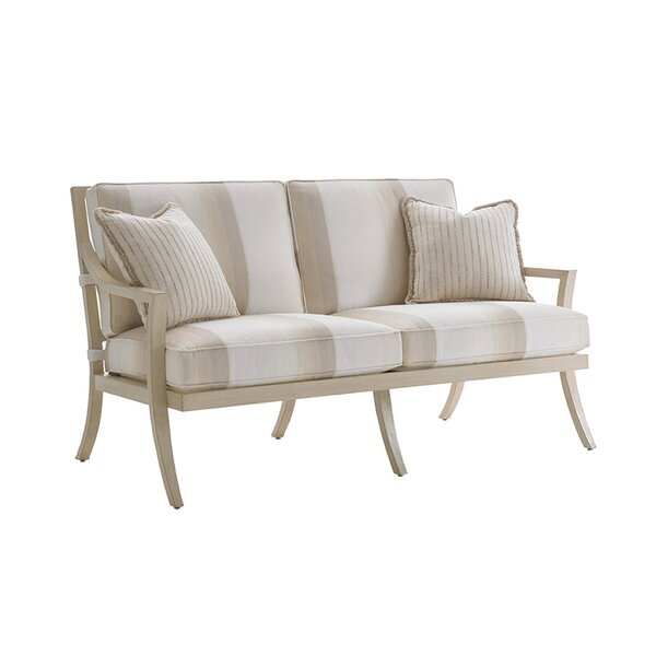 Misty Garden Loveseat with Cushions by Tommy Bahama Outdoor