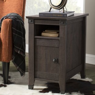 Check Prices Leach End Table With Storage ByCharlton Home