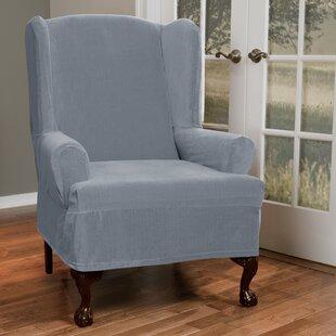 Beau Wing Chair Slipcovers Youu0027ll Love | Wayfair