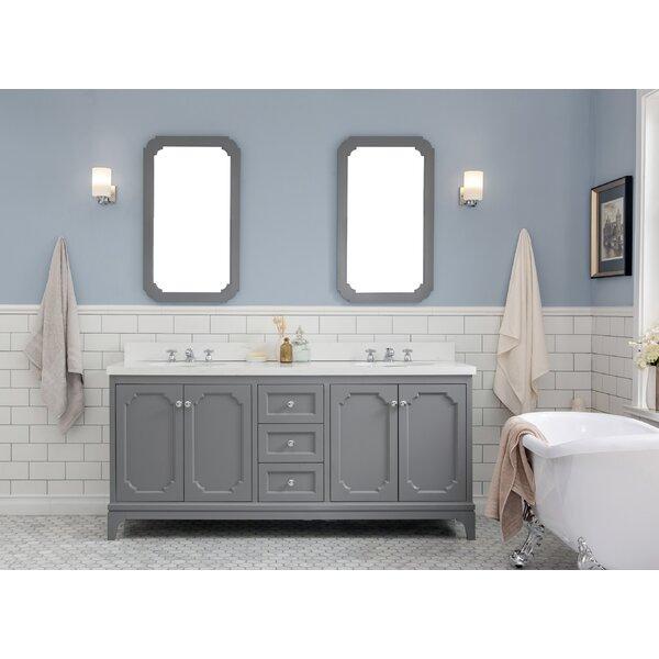Kylan 72 Double Bathroom Vanity Set