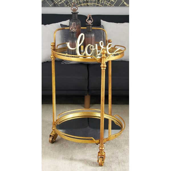 Crockett Bar Cart By Breakwater Bay