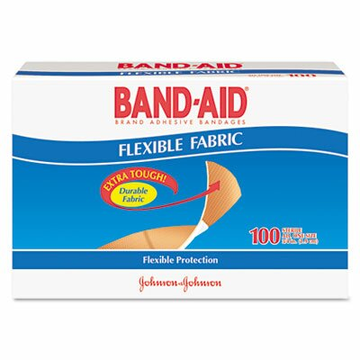 Band-Aid Flexible Fabric Premium Adhesive Bandages by Johnson & Johnson