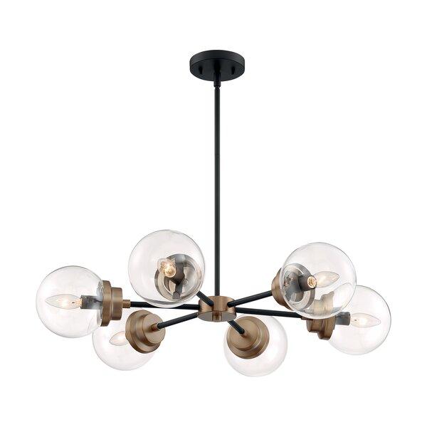 Ibrar 6 - Light Sputnik Sphere Chandelier by Wrought Studio Wrought Studio