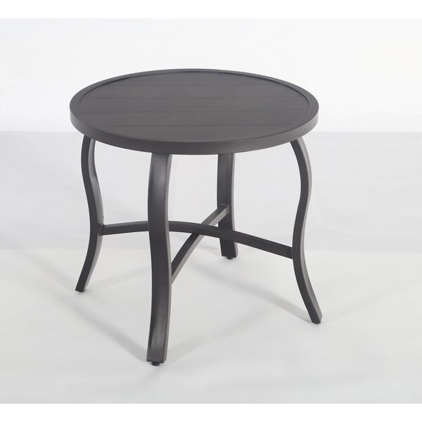 Torre Metal Side Table by August Grove