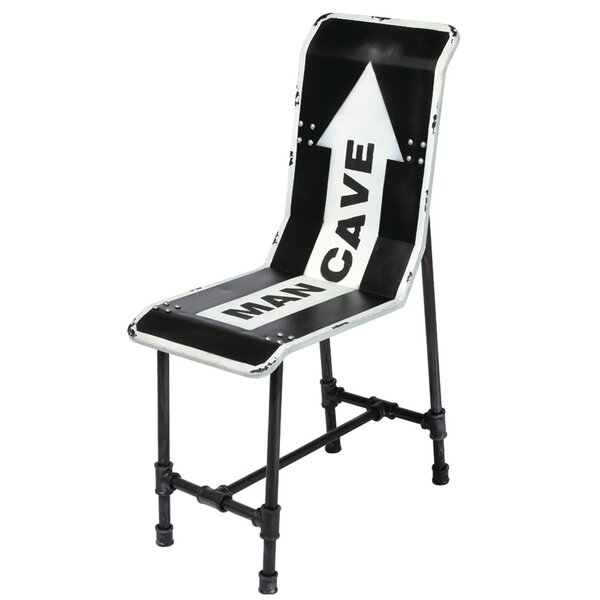 Man Cave Metal Chair by RAM Game Room