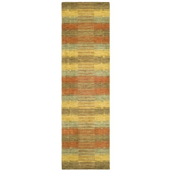 Trost Striped Area Rug by Wrought Studio