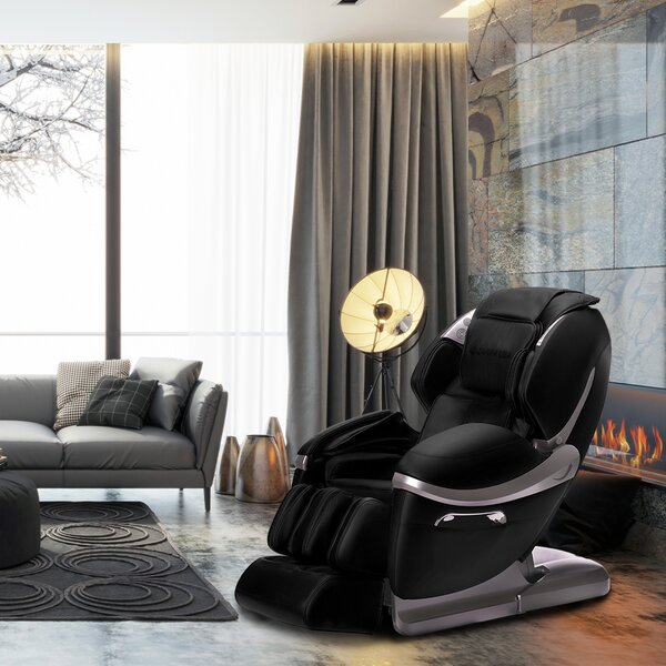 Z-smart Reclining Adjustable Width Full Body Massage Chair