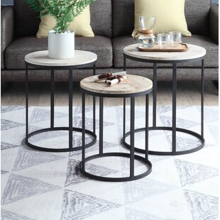 Top Reviews Stromberg 3 Piece Nesting Tables ByWrought Studio