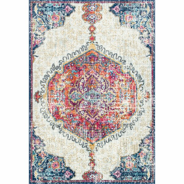 Cearbhall Beige Area Rug by Bungalow Rose