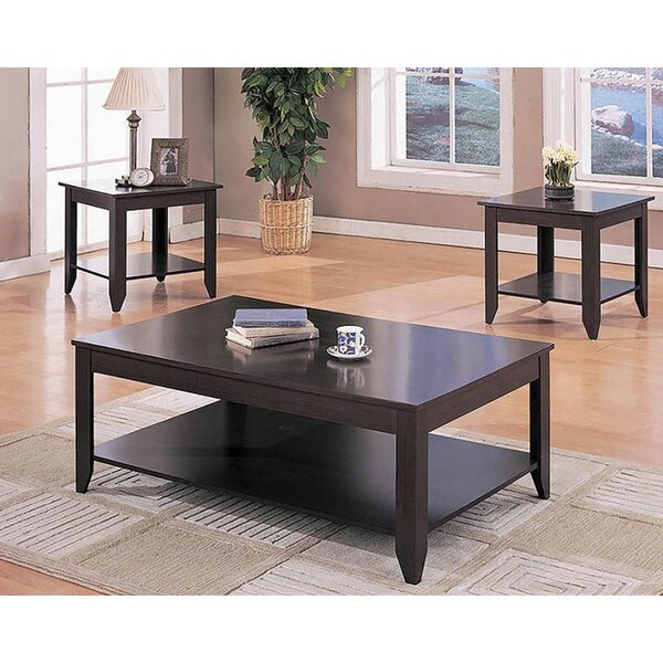 Arline 3 Piece Coffee Table Set by Canora Grey Canora Grey