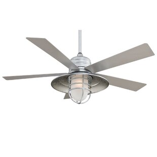 unique outdoor ceiling fans with lights brushed nickel quickview outdoor ceiling fans youll love wayfair