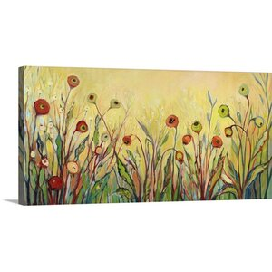 'Summer Poppies' by Jennifer Lommers Painting Print on Canvas by Great Big Canvas