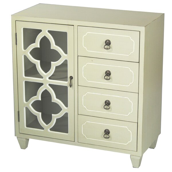 Napfle 4 Drawer Accent Cabinet by Bungalow Rose Bungalow Rose