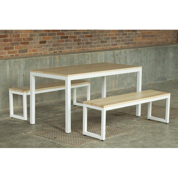Loft 3 Piece Dining Set by Elan Furniture