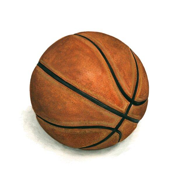 Effie Basketball Paper Print by Zoomie Kids