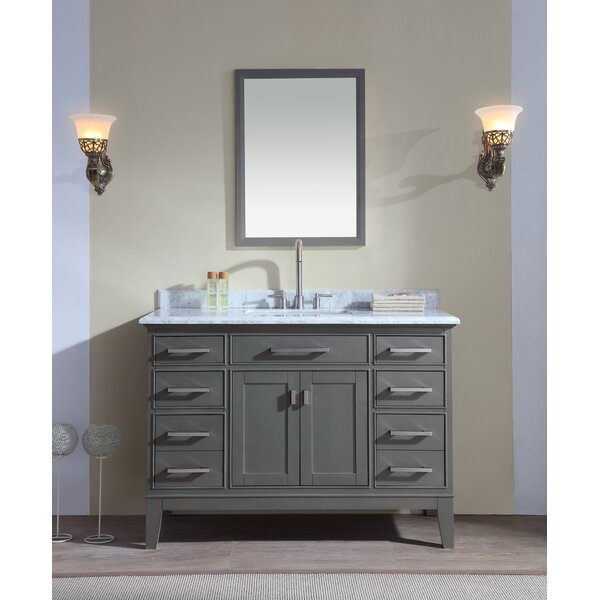 Arminta 48 Single Bathroom Vanity Set by Charlton Home