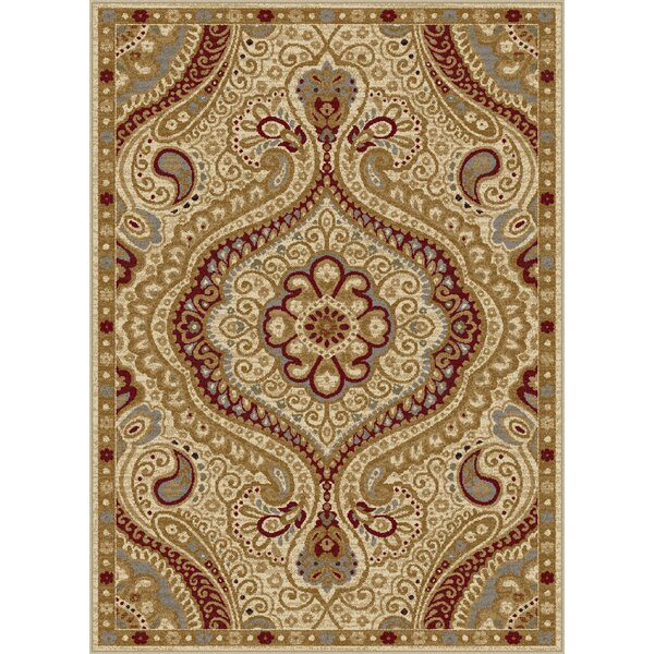 Ramsey Ivory Area Rug by Threadbind