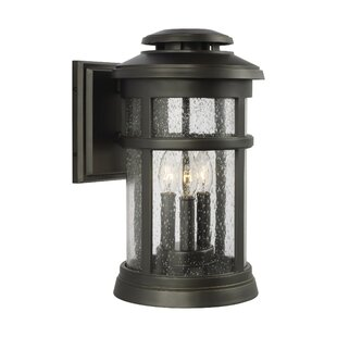 Compare & Buy Ishiro 3-Light Outdoor Wall Lantern By Longshore Tides