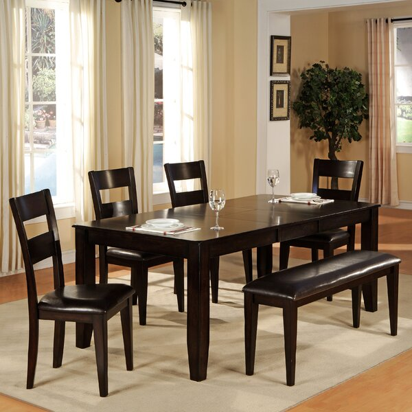 6 Piece Extendable Dining Set by Wildon Home®