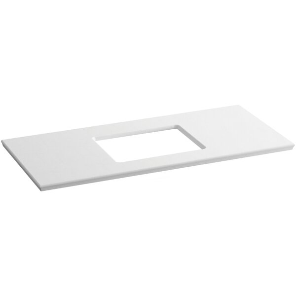 Solid/Expressions 49 Single Bathroom Vanity Top by Kohler