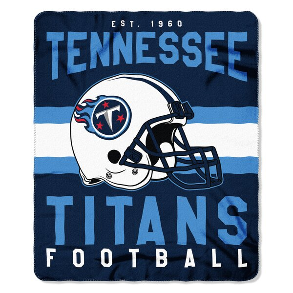 NFL Tennessee Titans Printed Fleece Throw by Northwest