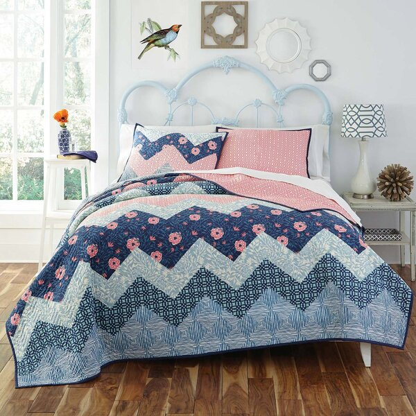 Camilla 3 Piece Quilt Set by KD Spain