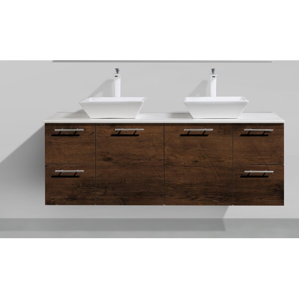 Wynne 60 Bathroom Vanity with Top by Orren Ellis