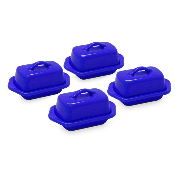 Coakley Mini Butter Dish Set (Set of 4) by Brayden Studio
