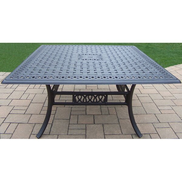 Bosch Metal Dining Table by Darby Home Co