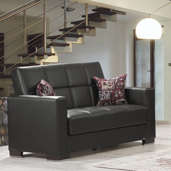 Eyota Upholstery Loveseat by Ebern Designs