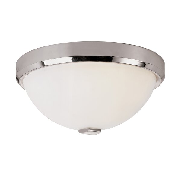 Squared Cap Flush Mount by TransGlobe Lighting