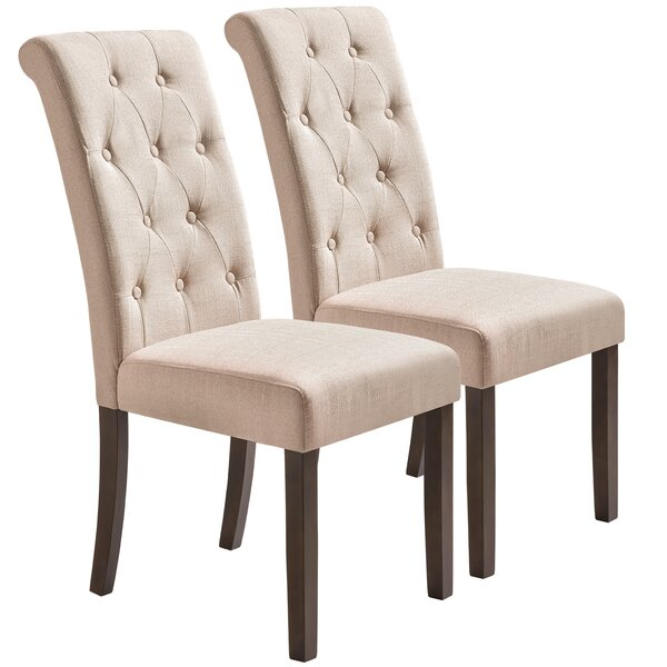 Ekawade Tufted Upholstered Parsons Chair (Set Of 2) By Red Barrel Studio®