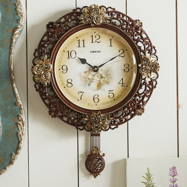 Pendulum Wall Clock by Three Star Im/Ex Inc.