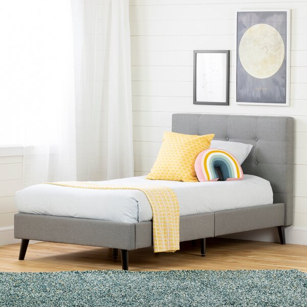 Fusion Upholstered Platform Bed by South Shore