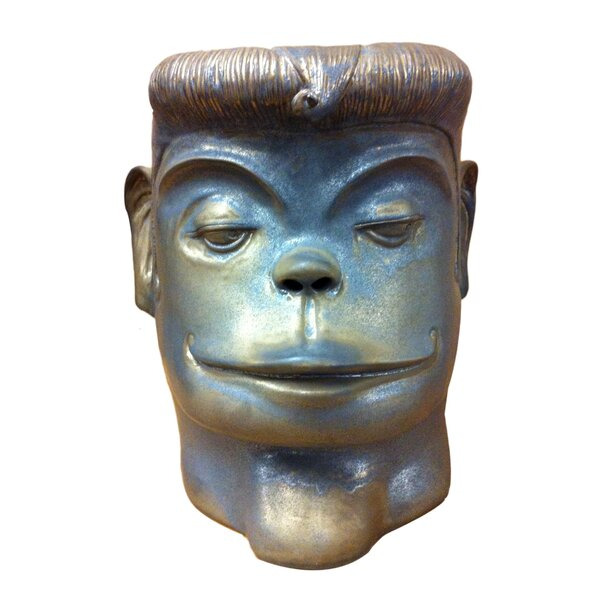 Monkey Face Stool by Asian Art Imports